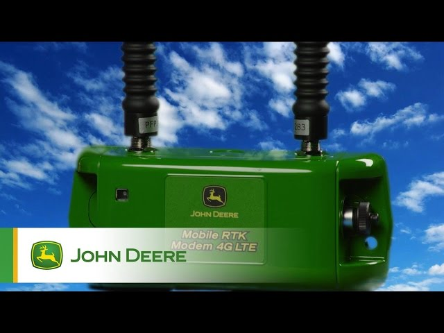RTK disponibile ininterrottamente John Deere