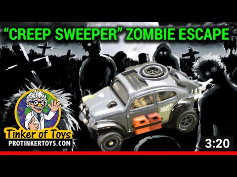 "UNBOXING | ""Creep Sweeper"" Zombie Escape 