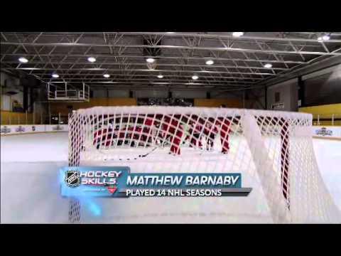 NHL Skills: One Time Wristshot From Canadian Tire Hockey School