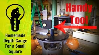 How To Make A Table Saw/router Depth Gauge