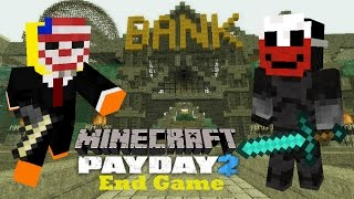Minecraft Payday 2 Map Gameplay - End Game - Minecraft Adventure Map | Mr Super Magic