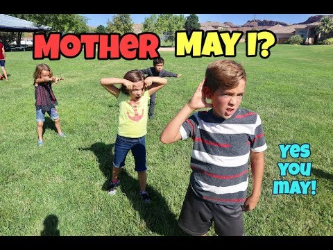 MOTHER MAY I? GAME || family park games
