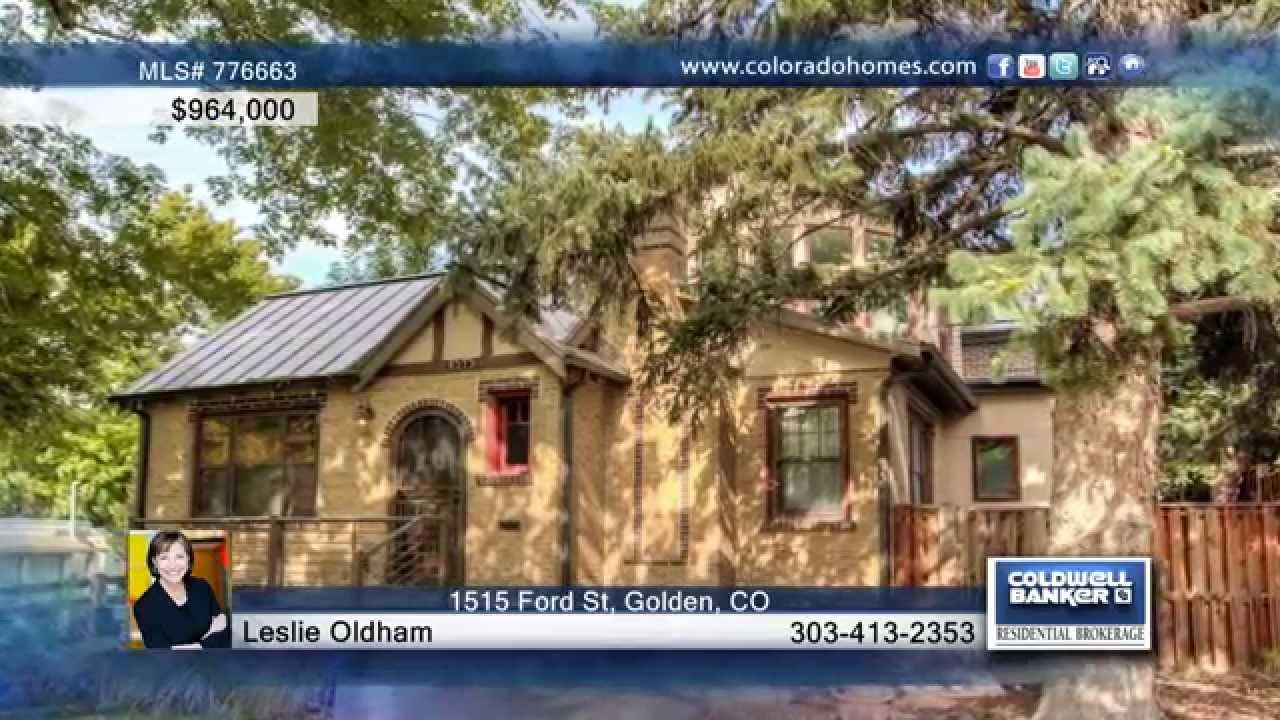 1515 ford st golden co homes for sale coloradohomes com youtube