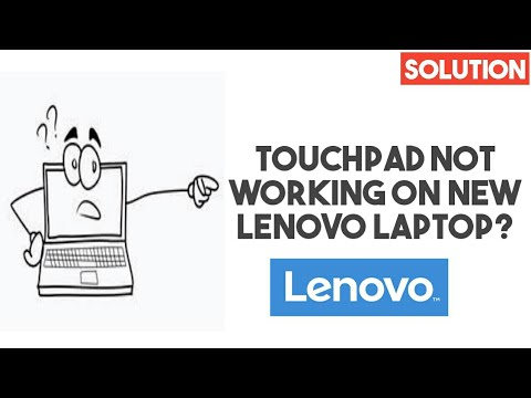 How To Solve Lenovo Laptop (ideapad/thinkpad) Touchpad Not Working On New  Laptops