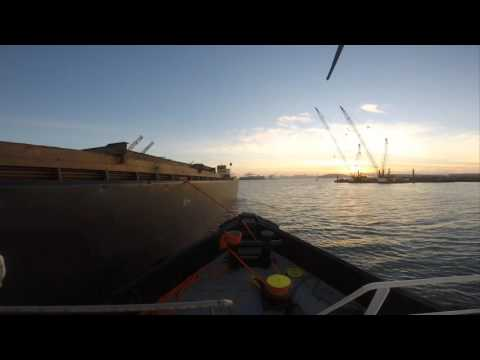 Oakland Barge Move