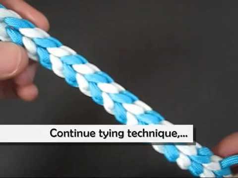 Как сделать плетеный браслет