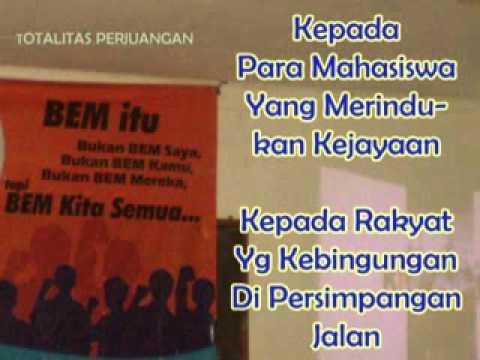 VIDEO TOTALITAS PERJUANGAN LIRIK LAGU WAJIB MAHASISWA INDONESIA BY ARSYIL [www.keepvid.com].3gp