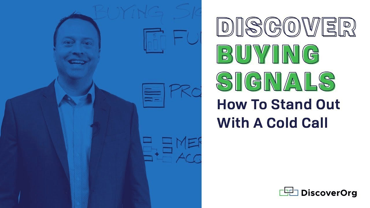 3 Ways Buying Signals Can Make You Stand Out With A Cold Call