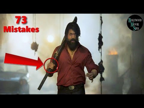 [EWW] KGF:CHAPTER 1 FULL MOVIE 2018 (73) MISTAKES | KGF:CHAPTER 1 MISTAKES | YASH