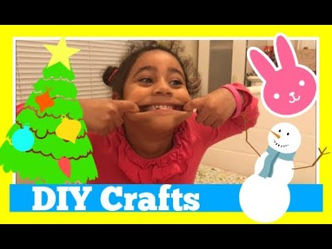 Diy do it yourself craft with anna christmas and bunny inspired diy do it yourself craft with anna christmas and bunny inspired kid videos solutioingenieria Gallery