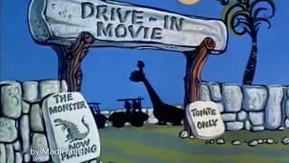 I Flintstones (GLI ANTENATI) - sigla iniziale italiana -   hq