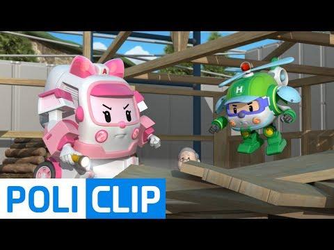 Watch your leg!   Robocar Poli Rescue Clips
