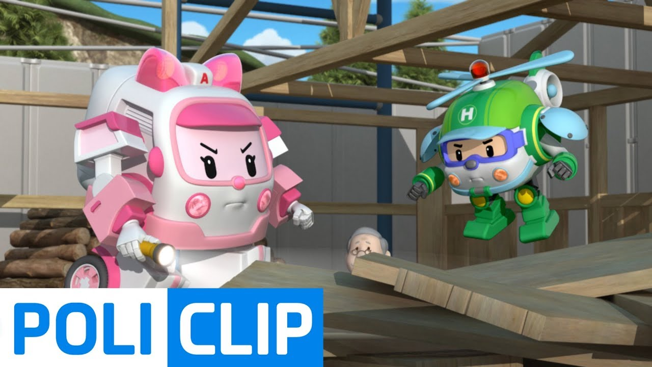 Watch your leg robocar poli rescue clips youtube