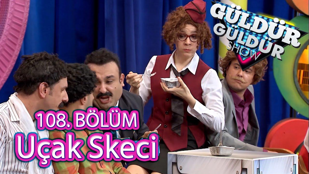 Güldür Güldür Show 108 Bölüm Uçak Skeci Youtube