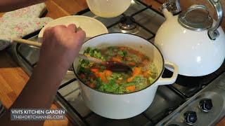 Carrot And Celery Soup | Vivi's Kitchen Garden