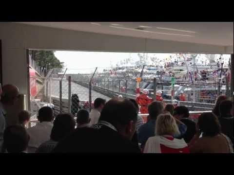 Monaco Grand Prix Tabac Corner Virage Restaurant 2013