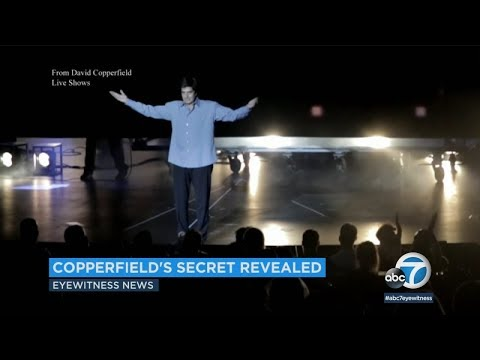 David Copperfield's famous vanishing crowd trick revealed in court  ABC7
