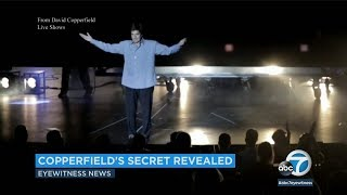 David Copperfield's famous vanishing crowd trick revealed in court | ABC7
