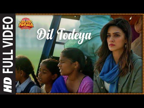 Full Song: Dil Todeya  Arjun Patiala  Diljit Dosanjh, Kriti  Guru Randhawa  Sachin-jigar