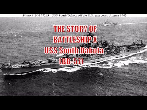 History Facts - Battleship X - The USS South Dakota