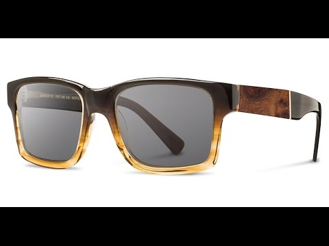 4bae21b216ea SHWOOD Haystack 50 50 Sunglasses - Hand Made In USA - YouTube