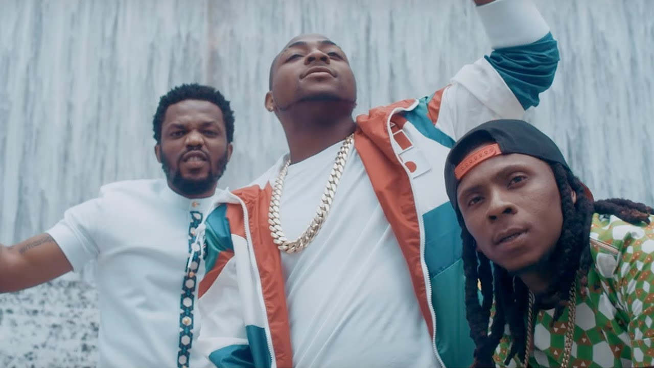 R2bees And Davido Rap From The Houston Suburbs In The Video