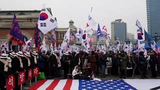 2018년 1월13일 제34차 서울역 태극기집회.