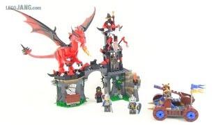 LEGO Castle Dragon Mountain 70403 set review!