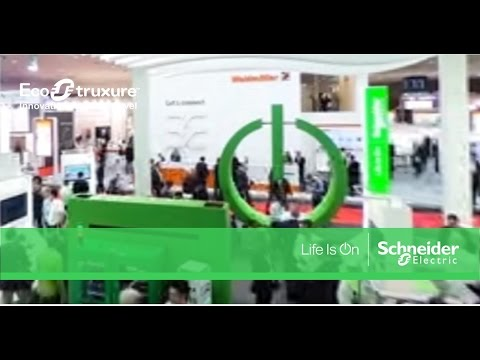 360º Video! Schneider Electric Booth at Hannover Messe 2017