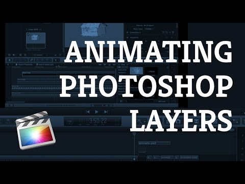 ANIMATE PHOTOSHOP LAYERS In Final Cut Pro X [Make Drawings Appear Beautifully]