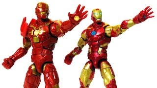 Guardians of the Galaxy IRON MAN Action Figure Comparison