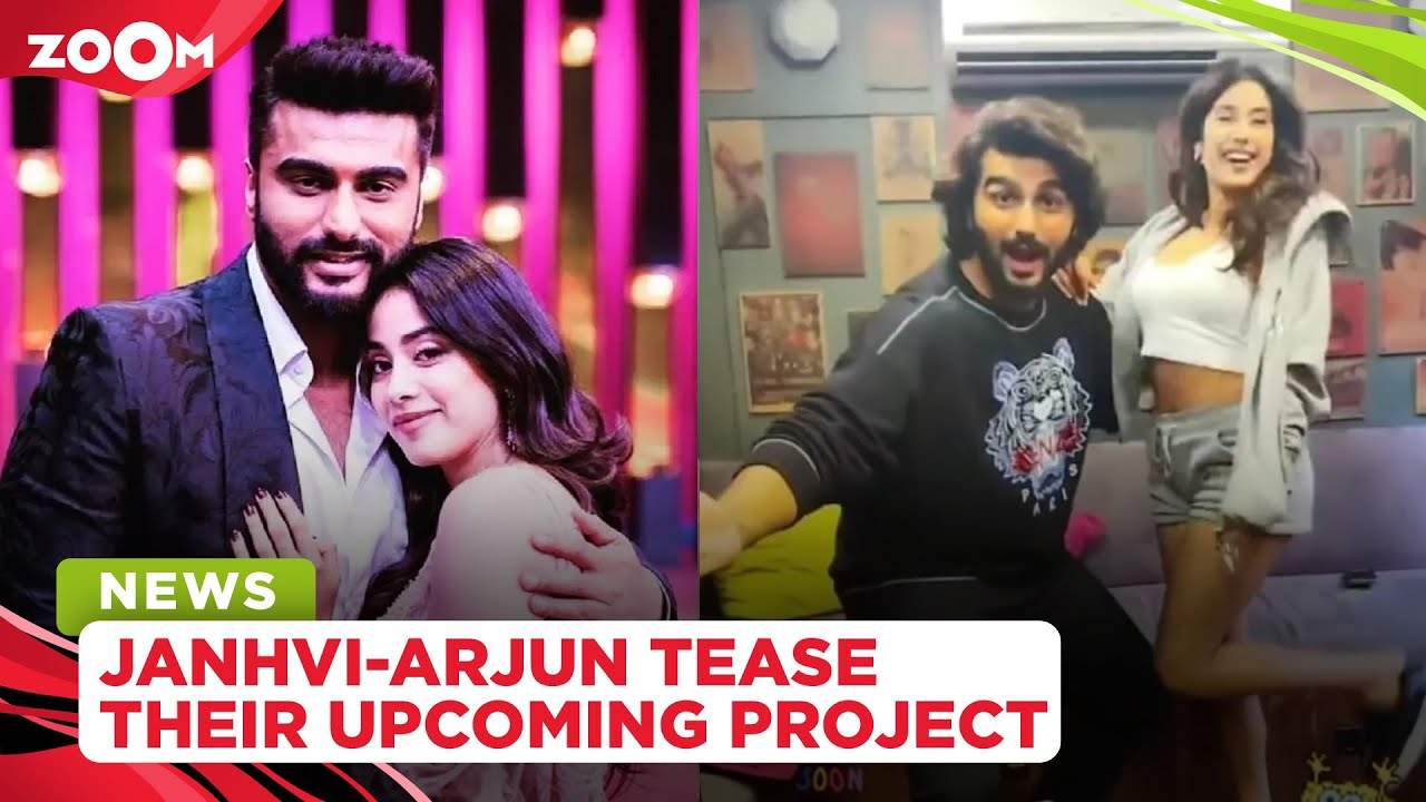 Janhvi Kapoor and Arjun Kapoor tease their upcoming collaboration with a fun video