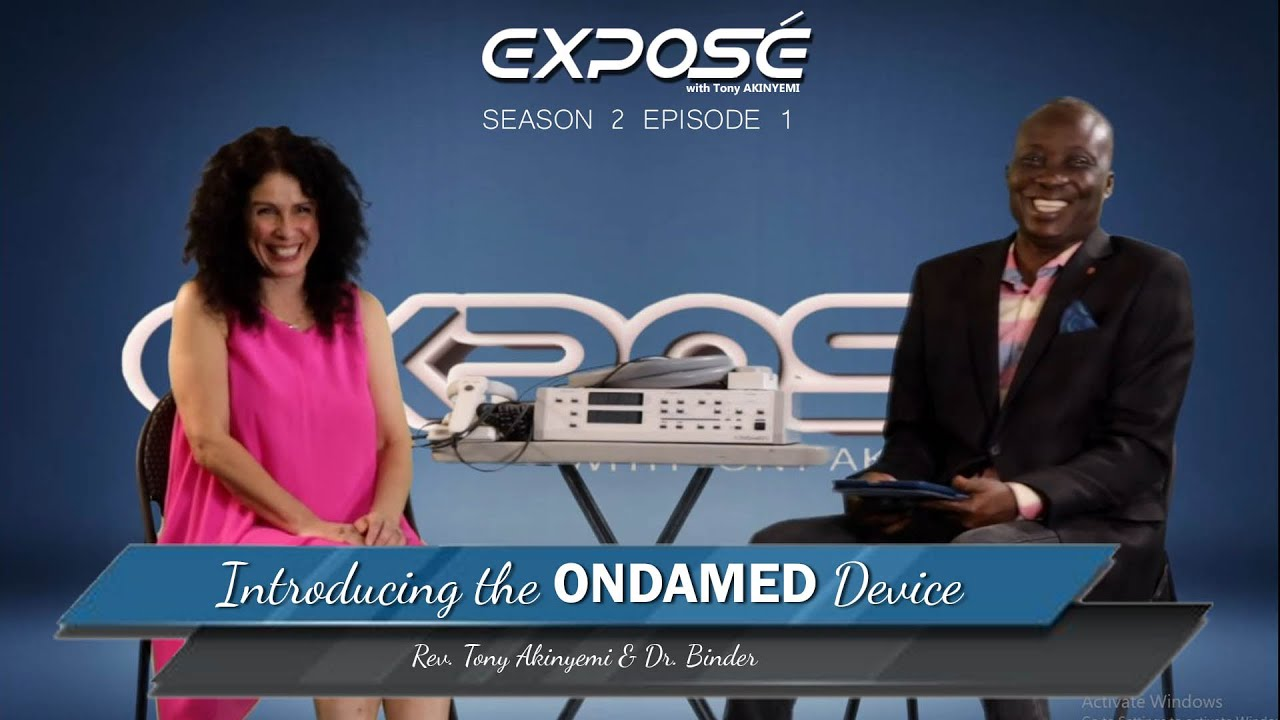 Download Exposé S2 Ep 1| Interview of Dr. Silvia Binder by Rev. Tony Akinyemi on the ONDAMED| TSF Church
