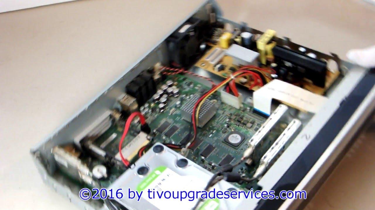 TiVo Series 3 TCD648250B hard drive exchange