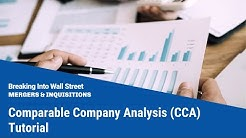 Comparable Company Analysis (CCA) Tutorial