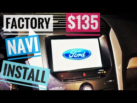 2015 Ford Explorer, Upgrading to Factory Navigation GPS for only $135 in parts