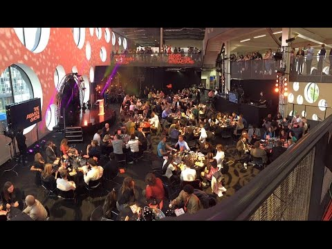 The Ravensbourne Awards Show 2016. Hosted by X Factor Legend Peter Dickson