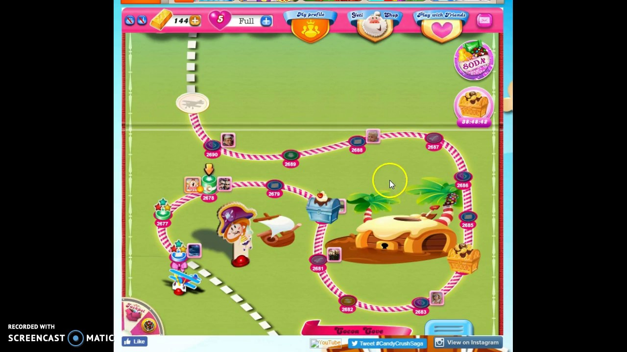 Candy Crush Visual Differences In Old New Platforms