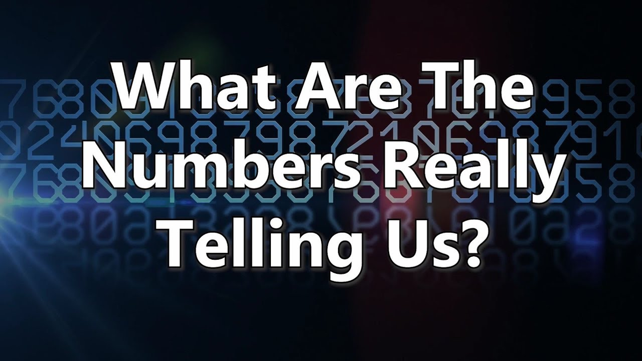 What Numbers Really Tell Us About >> Edwin Almeida What Are The Numbers Really Telling Us