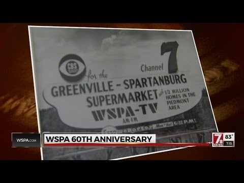 WSPA celebrates 60 years in television