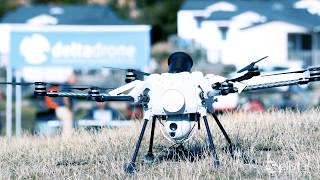 Elistair Use Case - Securing the Ryder Cup 2018 with a Tethered Drone