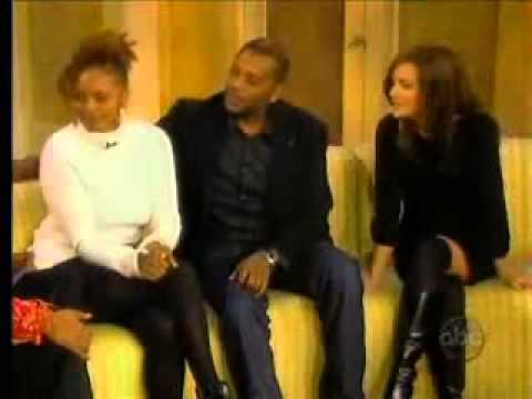 Darnell Williams, Rebecca Budig, and Debbi Morgan on The View