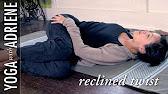 Reclined Twist Yoga Pose - Yoga With Adriene