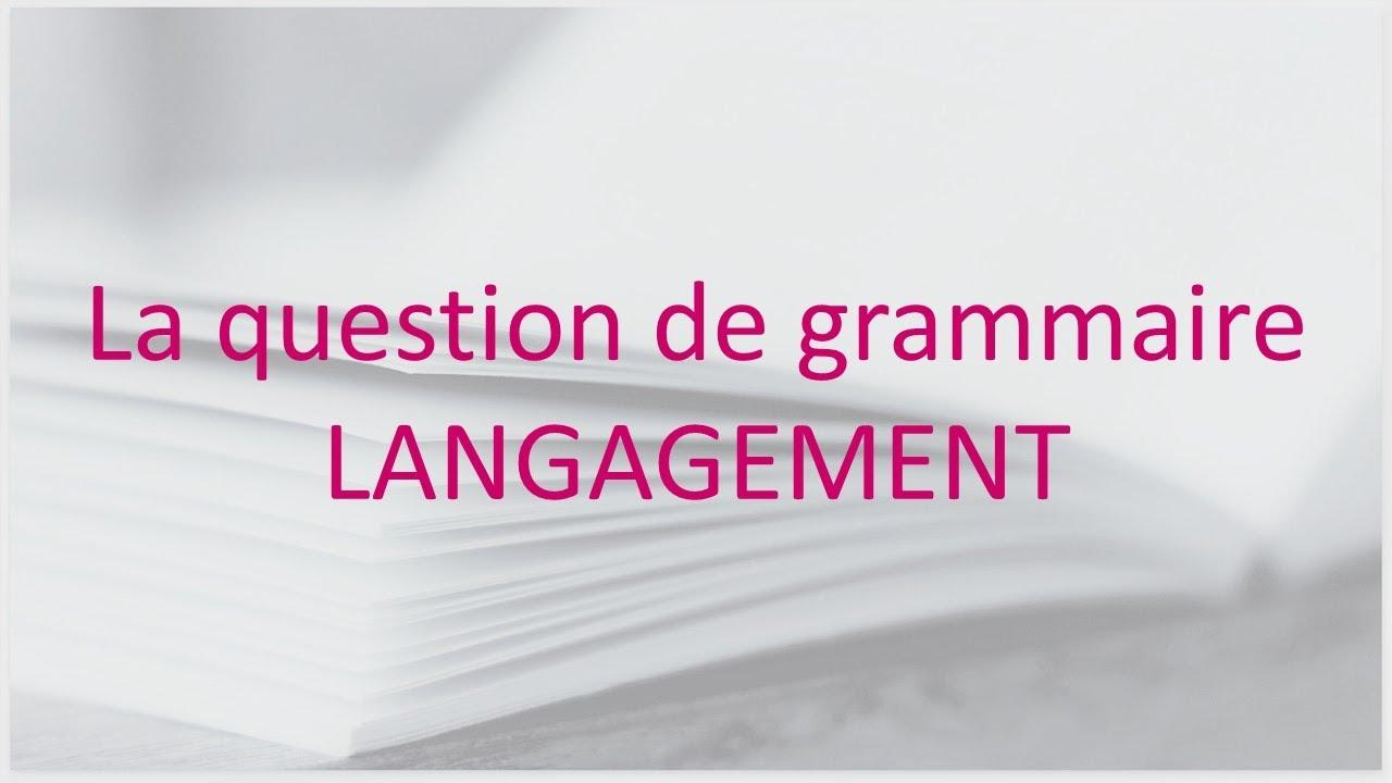 Question de grammaire à l'oral du bac de français - YouTube
