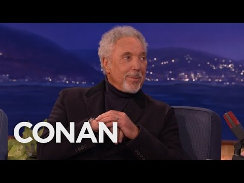 Tom Jones' Elvis Presley Bromance  - CONAN on TBS