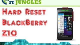 How to Hard Reset BlackBerry Z10 (4 Ways)