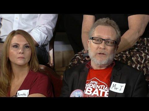 Frank Luntz polls undecided voters after debate