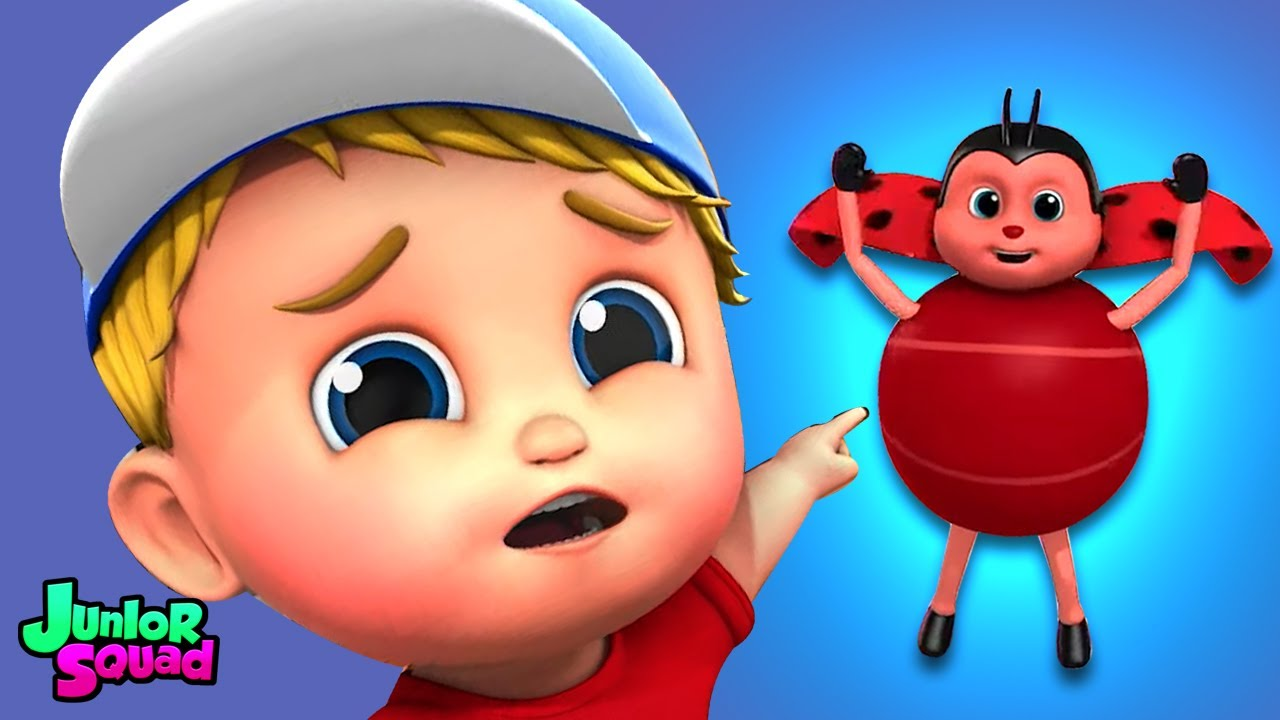 Böcek böceği şarkısı | Çocuklar için şiirler | Junior Squad Türkçe | Animasyonlu videolar