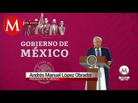 """""""Estamos confiando al Ejército la construcción de pistas"""": Andrés Manuel López Obrador"""