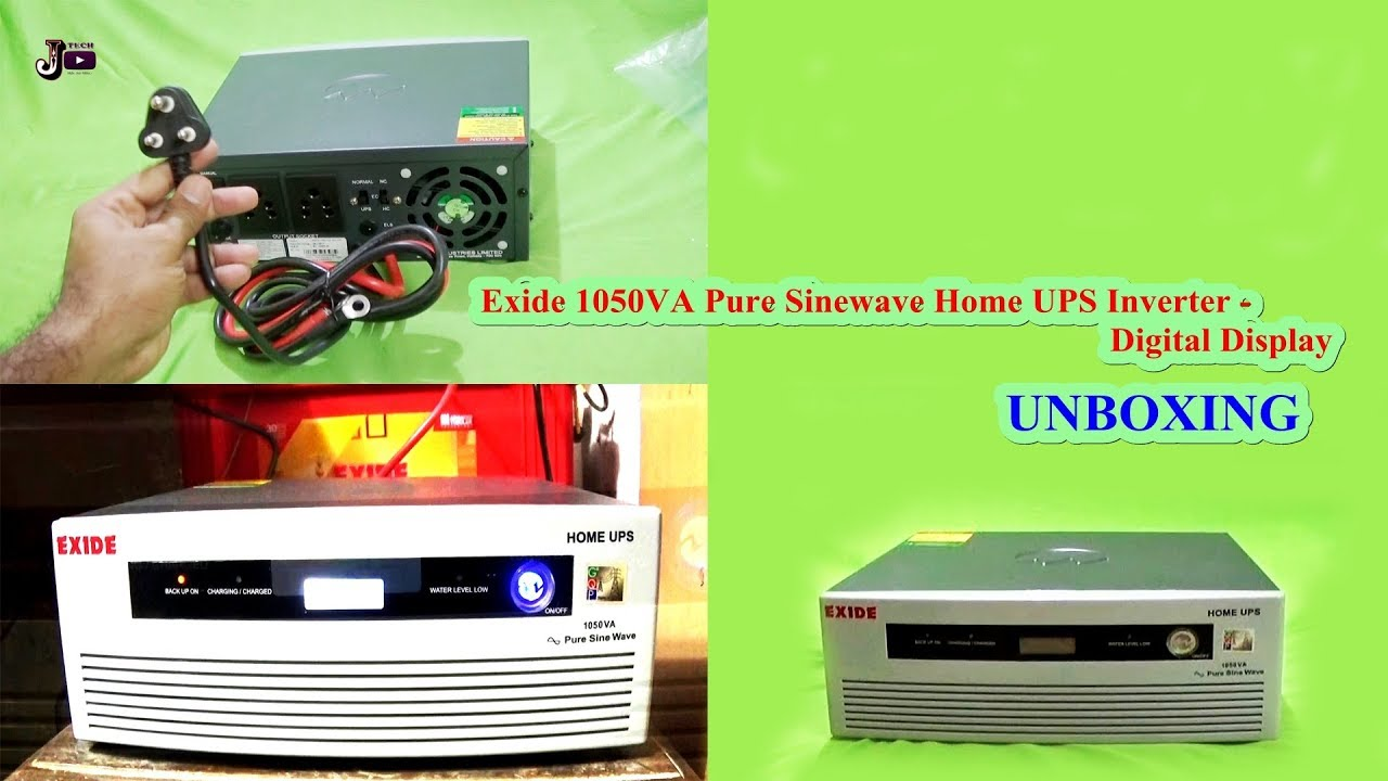 Exide 1050va Pure Sinewave Home Ups Inverter Youtube Sine Wave Circuit 500 Watt Diagram